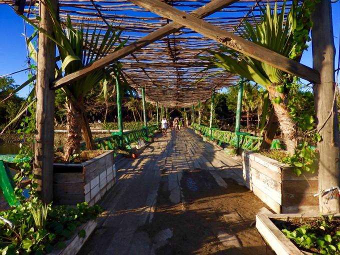 バリ島La Laguna Baliの橋