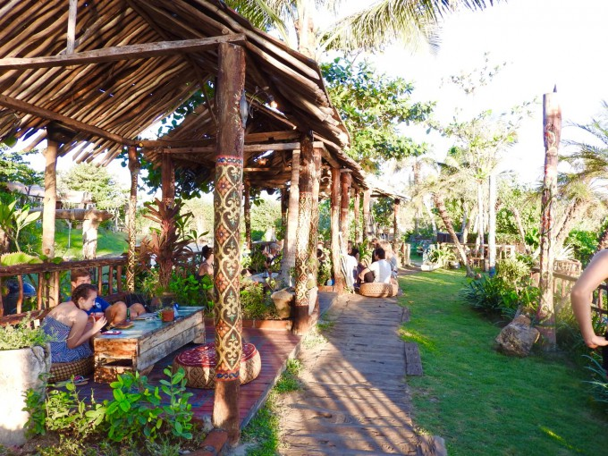 バリ島La Laguna Baliのガゼボエリア