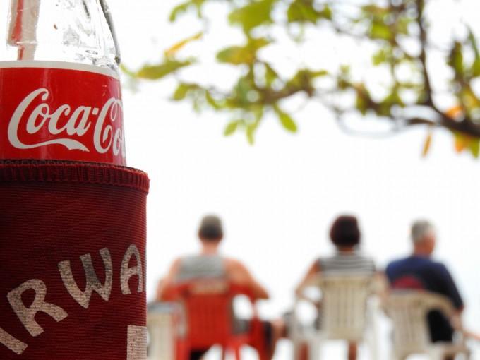 コカコーラとそら