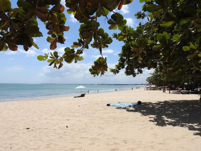 ジンバランビーチの風景
