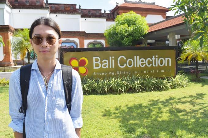 バリ島バリコレクションに来たホリ
