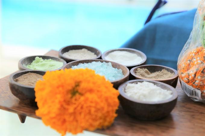 バリ島シークレットヘブンズスパの塩