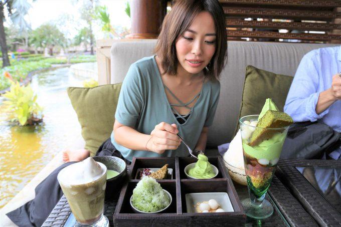バリ島アヤナリゾート&スパバリのTSUJIRIの料理