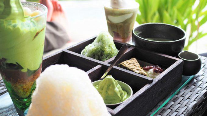 バリ島アヤナリゾート&スパバリのTSUJIRIのデザート