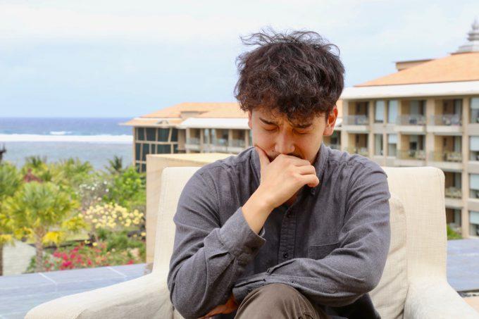 バリ島ムリアで話すカイリ