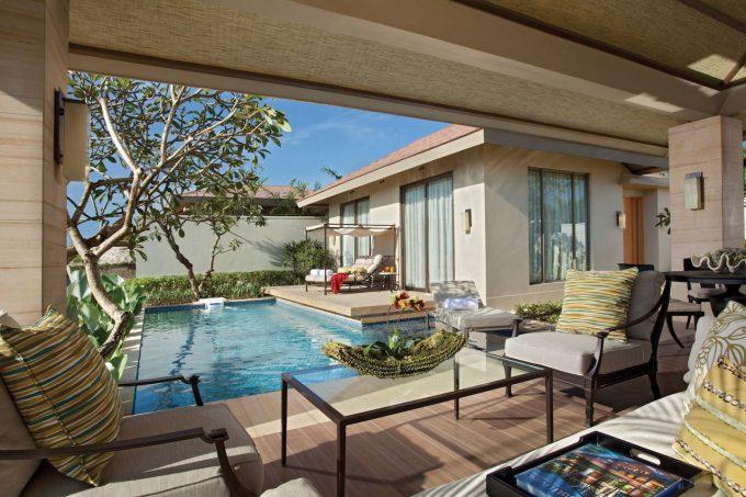 バリ島ムリアヴィラスの客室