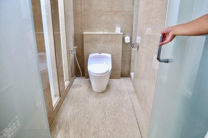 バリ島ザ・サマヤスミニャックのトイレ
