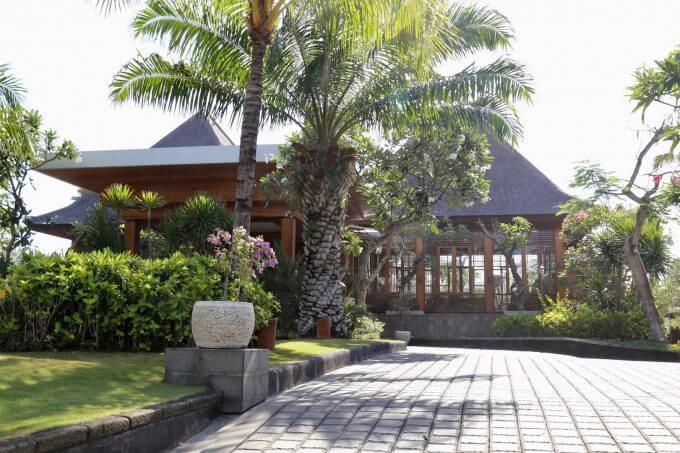 バリ島ザ・サマヤスミニャックの入り口