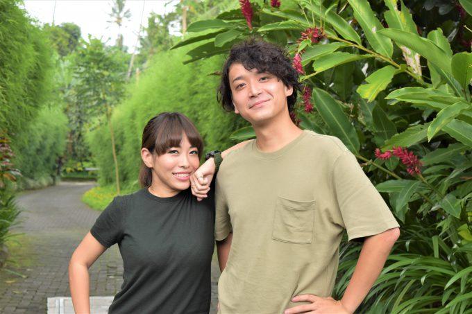 バリ島ザ・サマヤウブドに来たカップル