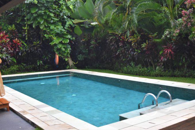 バリ島ザ・サマヤウブドの専用プール