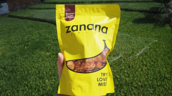 ザナナチップスと畑