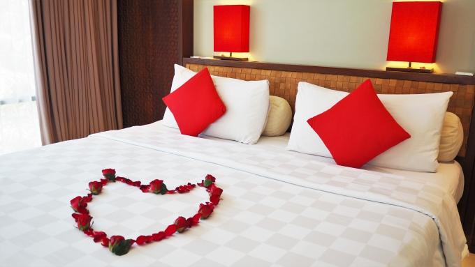 バリ島セガラヴィレッジホテルの部屋