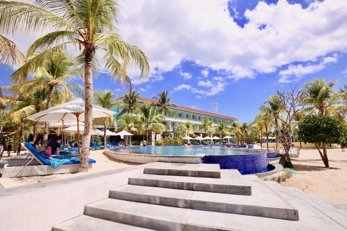 レンボンガン島のホテルマハギリ