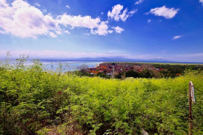 レンボンガン島の癒される景色