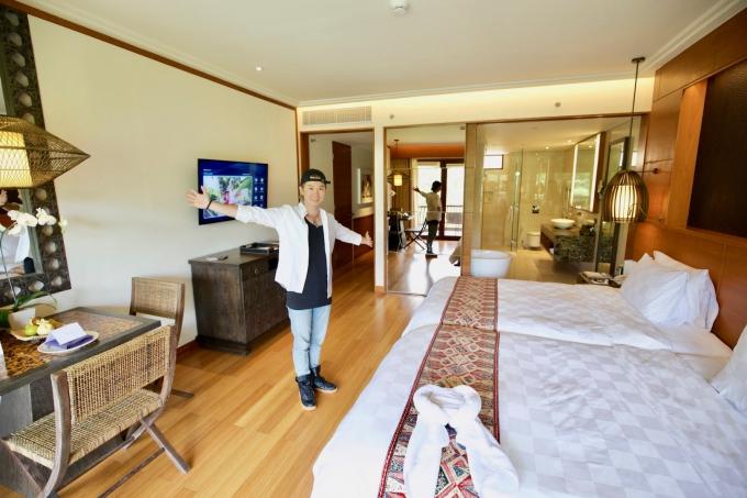 バリ島パドマリゾートウブドの客室