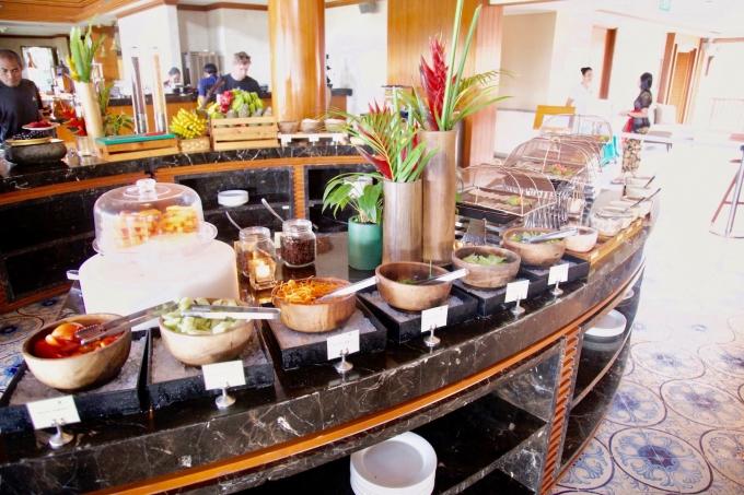 バリ島パドマリゾートウブドの朝食