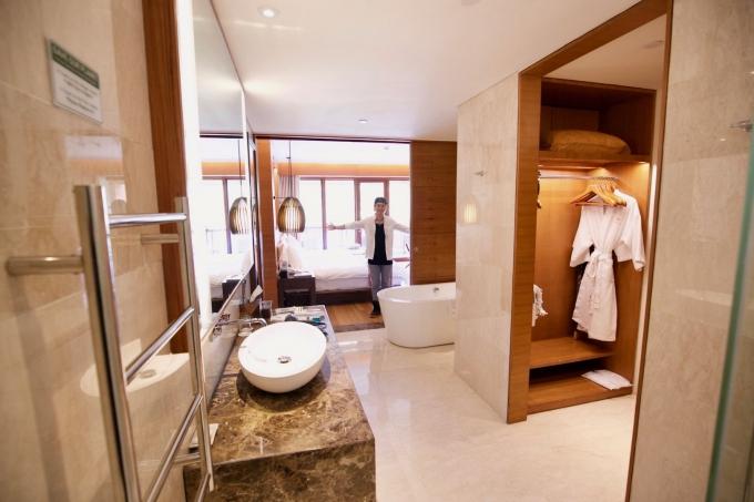 バリ島パドマリゾートウブドのバスルーム